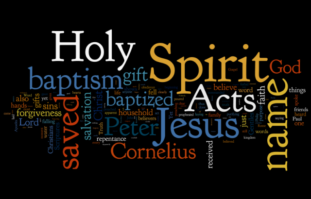 Holy Spirit Salvation