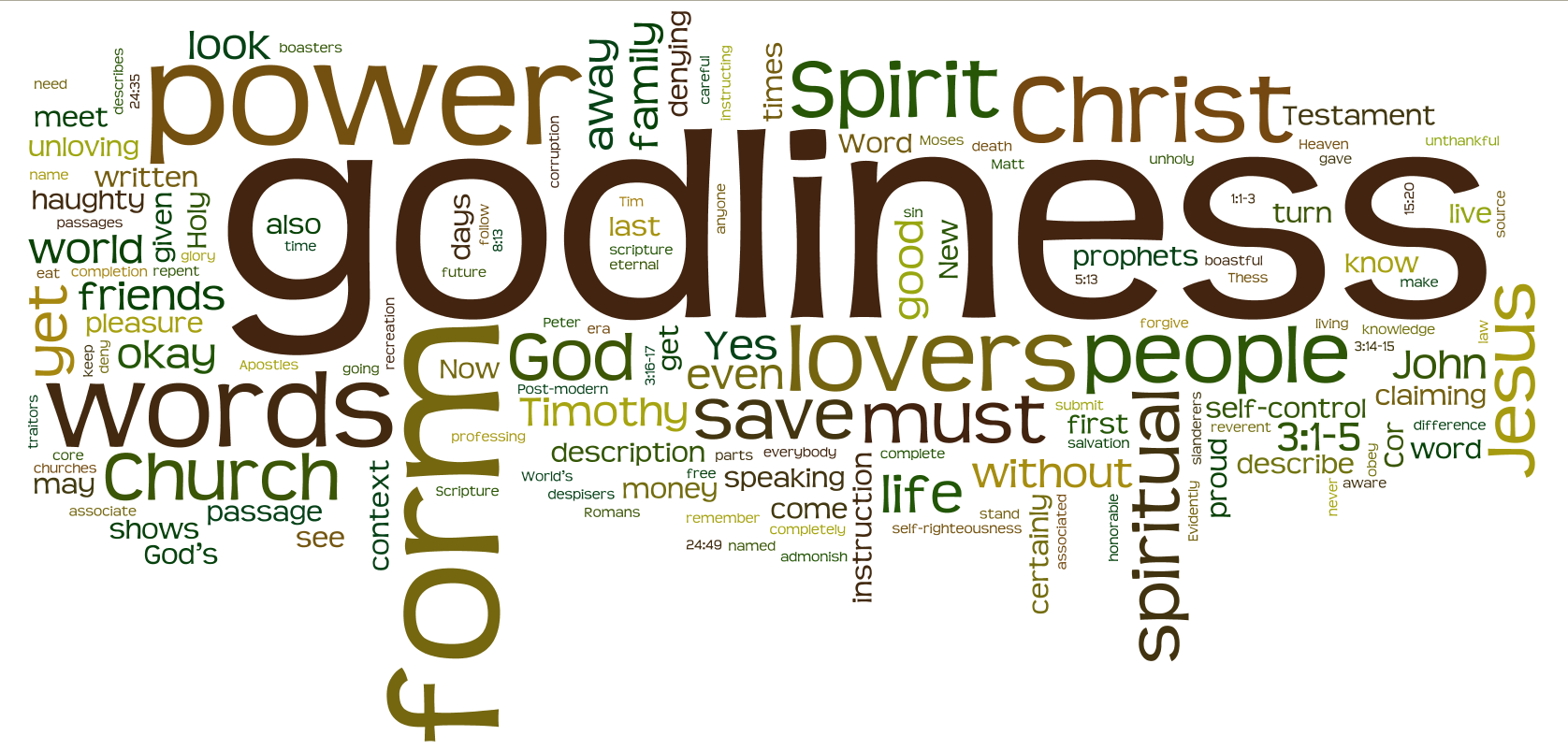Will Any Form of Godliness Do? – Seeing God's Breath