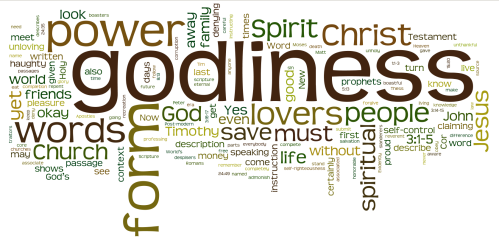 Form of Godliness