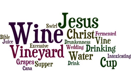 Cause I heard Jesus, He drank wine
