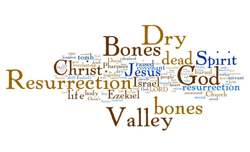 Valley of Dry Bones Bible Valley of Dry Bones Jesus Said