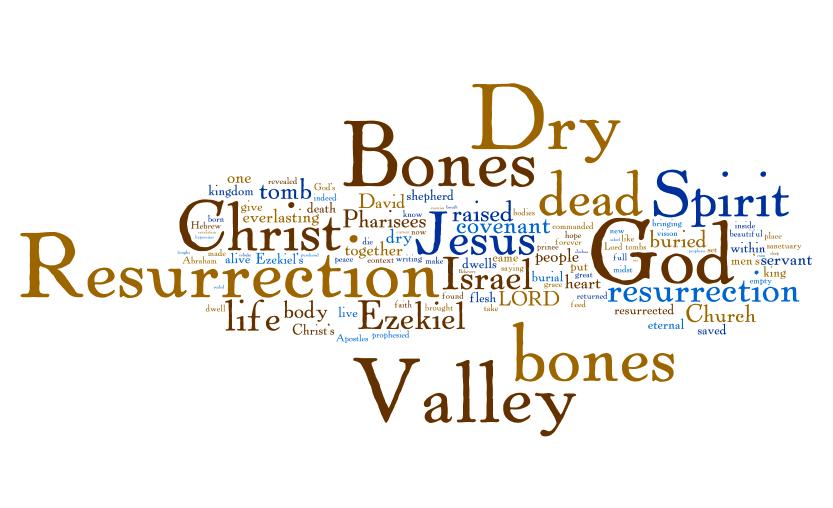 Valley of Dry Bones Bible Valley of Dry Bones Jesus Said