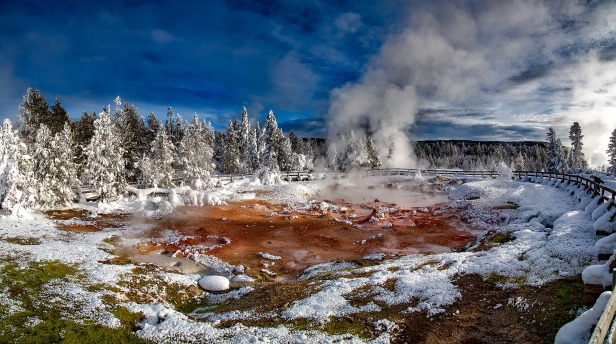 Hot Spring Yellowstone - Evolution Myth