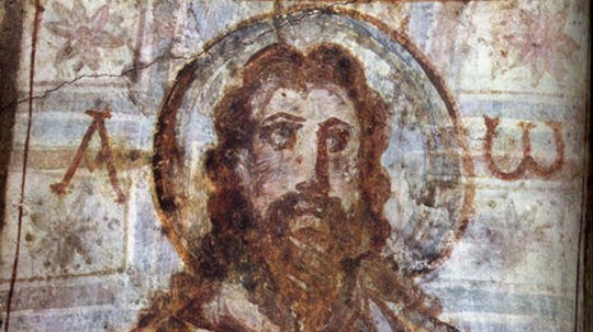 Catacomb Picture of Jesus